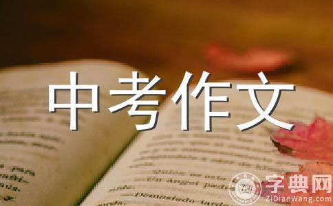 2010年广东省中考满分:那天,我捡到了快乐的钥匙2