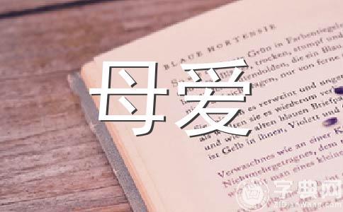【精华】母爱500字作文集锦十四篇
