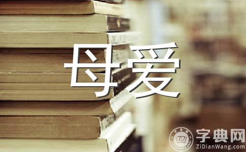 【精品】母爱的作文集锦十二篇