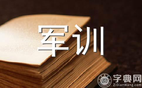 【精选】军训作文(精选七篇)