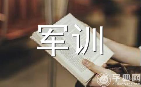 【精品】军训作文十三篇