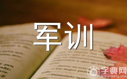 【精选】军训作文(精选10篇)