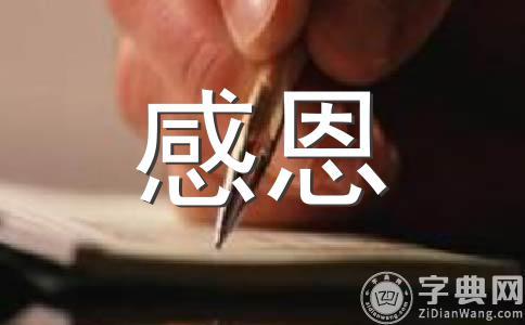 【必备】学会感恩500字作文